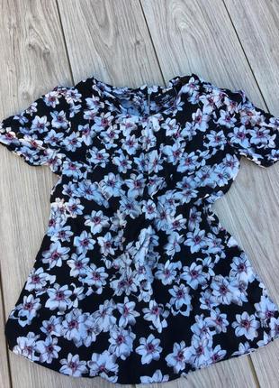Блузка в цветочки h&m цветочная блуза тренд принт цветочный принт