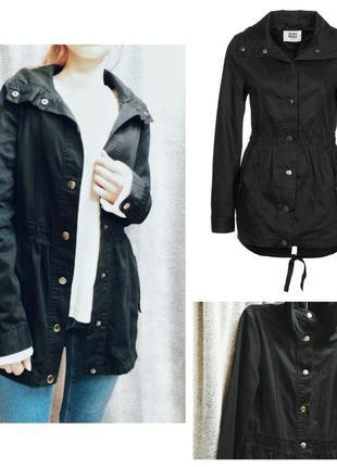 Черная парка vero moda женская куртка