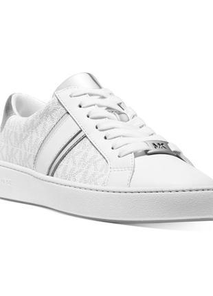 Michael kors irving lace-up sneakers кеды кожа р-р 7-7,5-8-8,5