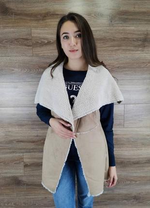 Фирменная женская жилетка batta made in italy.