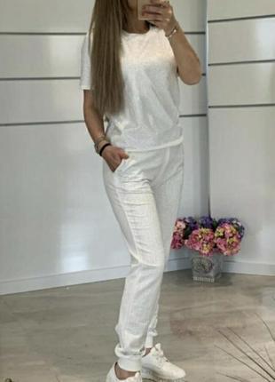Белый костюм турция