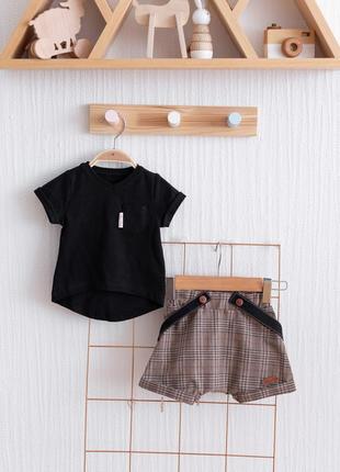 Набор для мальчика шорты и футболка