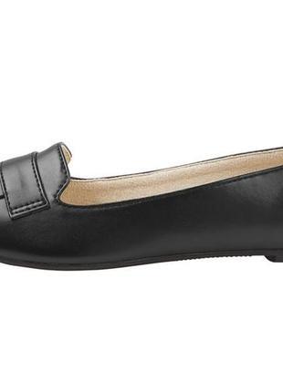 Балетки esmara экокожа, новые чёрные туфли размер 37 , новинка 2020!6 фото