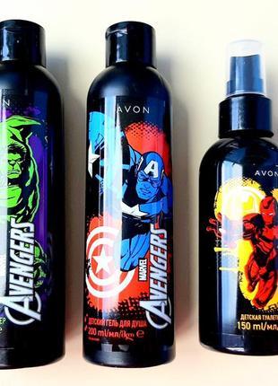 Детский набор для мальчиков avon marvel avengers