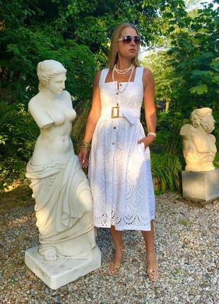 Платье италия прошва сарафан