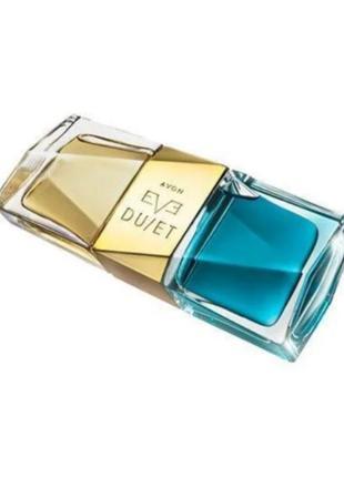 Женская парфюмированная вода avon eve duet contrasts