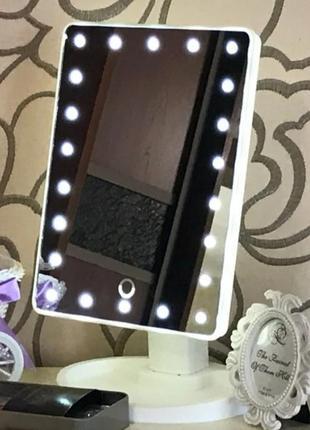 Зеркало с led подсветкой на батарейках