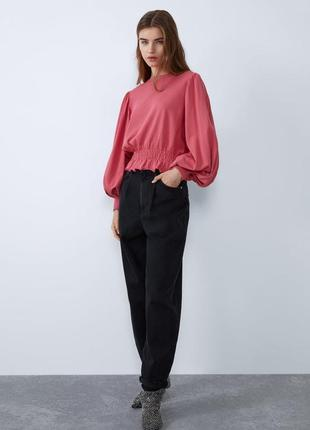 Блуза кофта свитшот zara