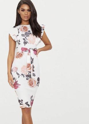 Платье в цветы