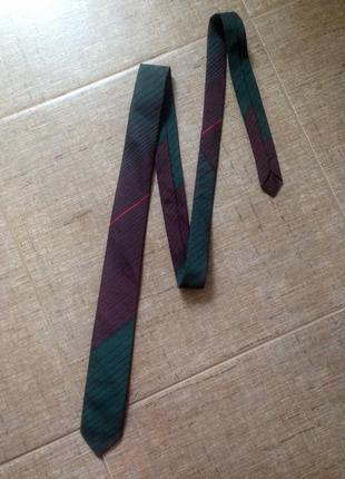 Шикарный плотный текстурный галстук винтаж ретро
