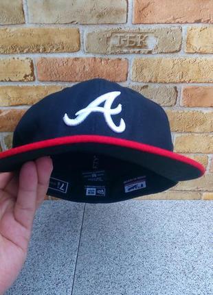 Крутая кепка atlanta braves