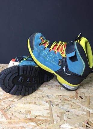 Треккинговые ботинки salewa 34р.