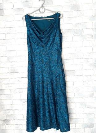 Платье миди из 3d ткани ralph lauren оригинал,  размер 2