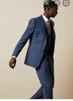 Элегантный шерстянной пиджак
