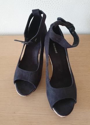 Босоножки, туфли на платформе graceland р. 39