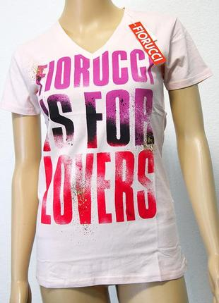 Женская футболка итальянского бренда fiorucci