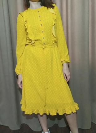 Платье в горох2 фото
