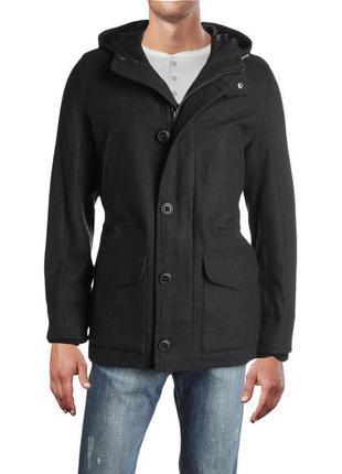 Мужское кашемировое пальто tommy hilfiger ( томми хилфигер хлрр )