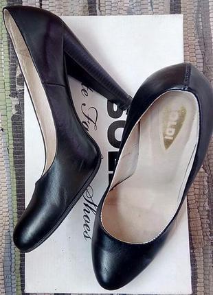 Туфли из натуральной кожи 38р. 25см soldi