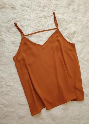 Шифоновый топ блуза