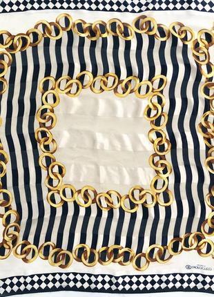 Шелковый платок gucci 80х оригинал