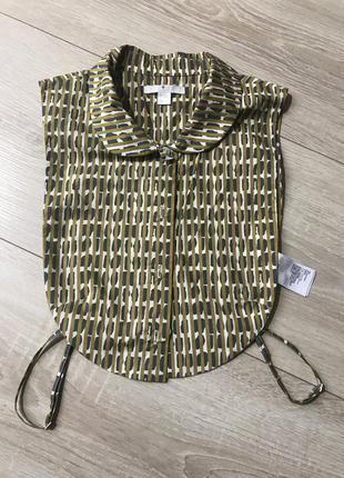 Cos бренд манишка воротник блуза рубашка