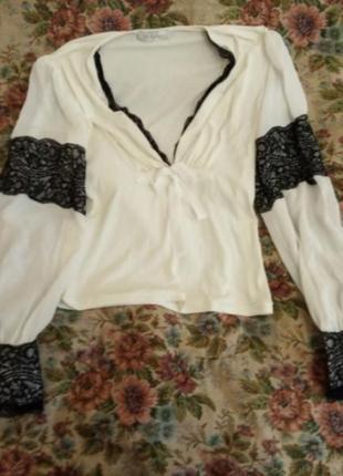 Vipart франция нежнейшая блуза р. 46