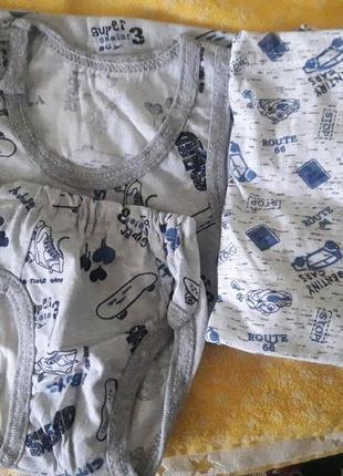 Комплект нижнего белья для мальчика