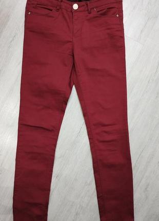 Штаны skinny скини женские в идеальном состоянии размер 27