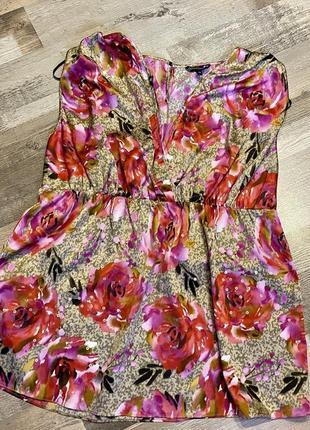Блузка papaya occasionwear в цветочный принт
