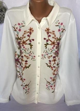 Шикарная нежная рубашка f&f