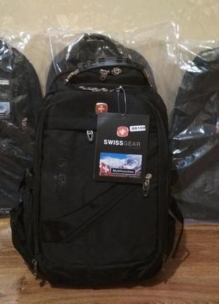 Рюкзак swissgear 8810 в комплекте дождевик аудио usb кабель