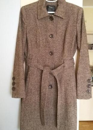 Пальто colin's, весна/осень 60% шерсть