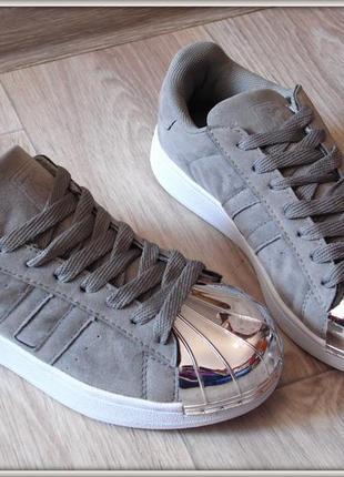 Яркие серые женские криперы кроссовки купить не дорого 36- 41, цена ... e26fb77c11e