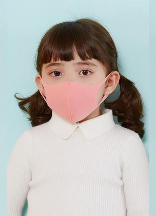 Детская маска питта для лица розовая pitta mask (1 шт/уп) (30131)