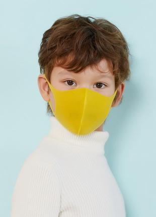 Маска питта для лица детская желтая pitta mask (1 шт/уп) (30131)