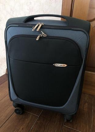 Samsonite чемодан ручная кладь лёгкий практичный