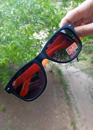 Стильные вайфареры унисекс яркие очки стиль  ray ban италия