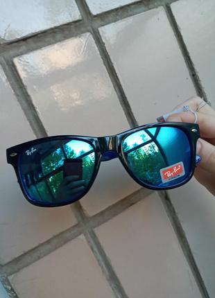 Ray ban италия вайфареры синие зеркальные новый завоз очков по оптимальным ценам