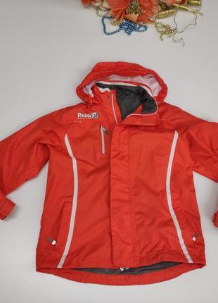 Спортивна яскрава дитяча куртка весна – осінь розмір 110