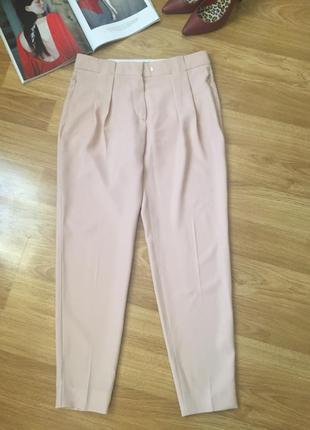 Нюдовые брюки штаны sportmax maхmara оригинал размер s