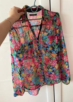 Блузка рубашка1 фото