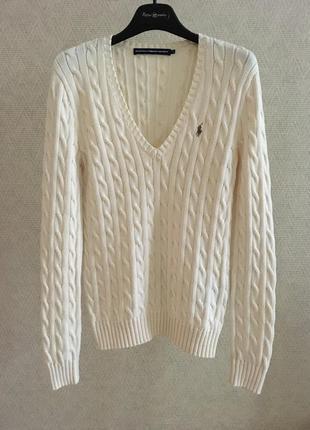 Хлопковый свитер ralph lauren sport
