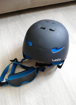 Защитный шлем/очки французской компании wed'ze