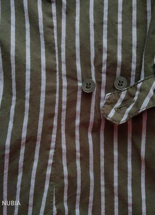Рубашка lerros цвета хаки