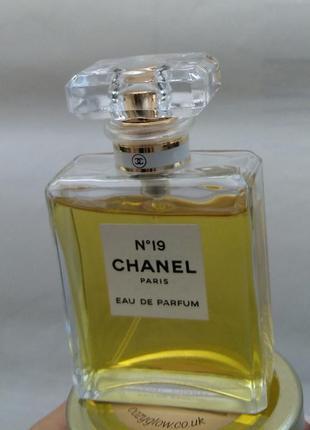 Оригинал! парфум chanel 19 edp 50 43\50 мл парфюм духи
