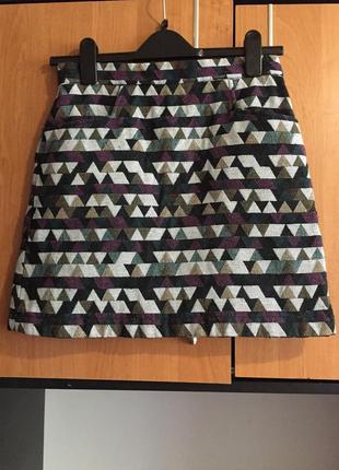 Крутая юбка из твида