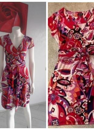 Nicole miller платье в стиле pucci р 44