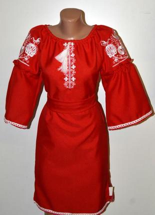 Вишиванка вышиванка сукня з вишивкою розмір xxs-xs,40-42