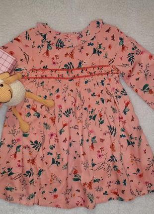 Платье next  девочке 4-5 лет